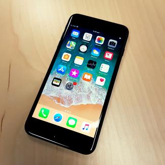 One month old iPhone 7 Plus Matt Black 256GB Unlocked AU Model