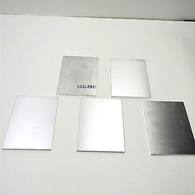 ".75/"" thick 6061 Aluminum PLATE  6.625/"" x 12/"" Long QTY 2 Flat Stock sku 137185"