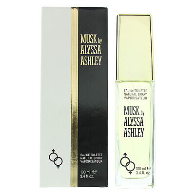 Musk by Alyssa Ashley for Women 100ml EDT Spray