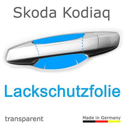 Schutzfolie Aufkleber Türgriff Griffmulde / Skoda Kodiaq Bj. 2017, 2018, 2019
