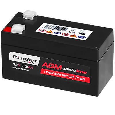 Panther Ersatzbatterie N000000004039 für Mercedes AGM 12V 1,2Ah Backup Batterie