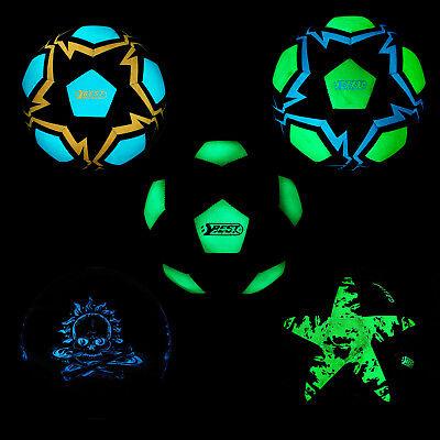 Best Sporting Fußball Trainingsball Glow In The Dark Leuchtend Ball Bälle ()