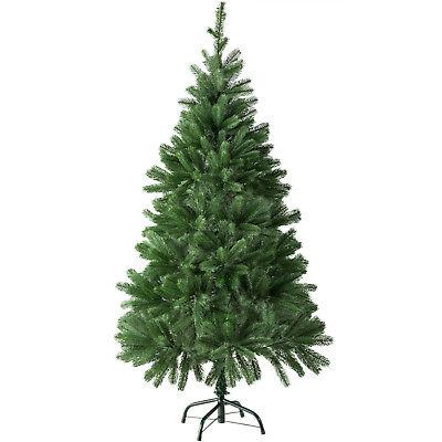 Árbol de Navidad Artificial Arbol Plástico Abeto Interior 470 Ramas 140cm Verde