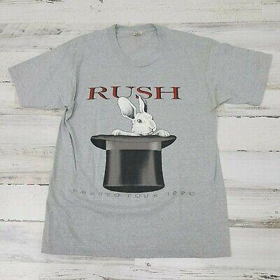 RARE VINTAGE !! RUSH PRESTO 1989 TOUR TEE SHIRT LARGE T-SHIRT