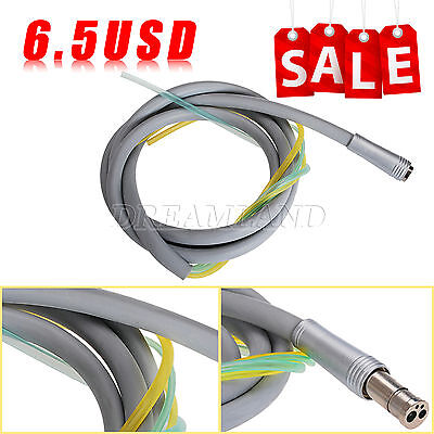 Nsk Style Dental High Low Speed Handpiece Tube 4 Holes Tubing For Air Turbine
