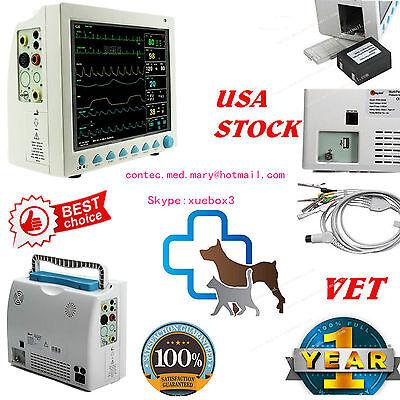 Usa Fedex Vet Icu Patient Monitor Veterinary Multi-parameter Ccu Cms8000vet Fda