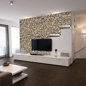 selbstklebende xxl fotofolie steinwand natur steine mauer wand neu ebay. Black Bedroom Furniture Sets. Home Design Ideas