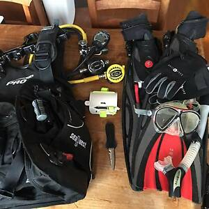 Complete scuba kit - Top range gear in perfect condition Newstead Brisbane North East Preview