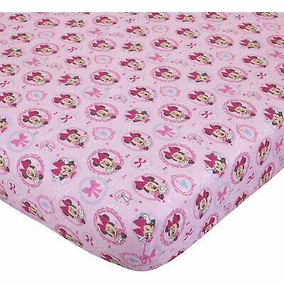 Disney Minnie Mouse Bows are Best Baby Crib Sheet, 28