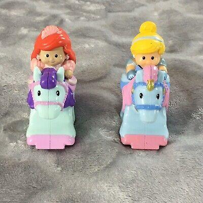 Fisher Price Little People Disney Princess Klip Klop Cinderella & Ariel
