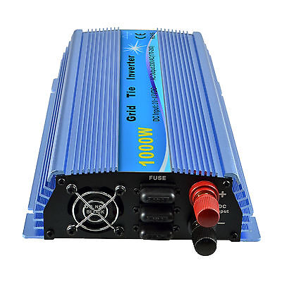 1000 Watt Solar Netz-Wechselrichter Grid Tie Inverter DC20-45V MPPT Funktion