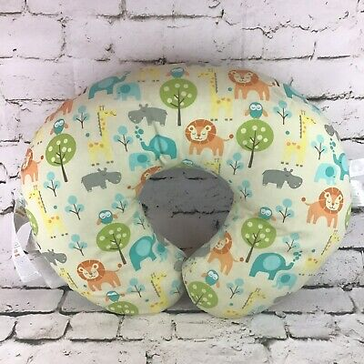 Boppy Feeding & Infant Support Pillow in Peaceful Jungle Design W/Washable Cover