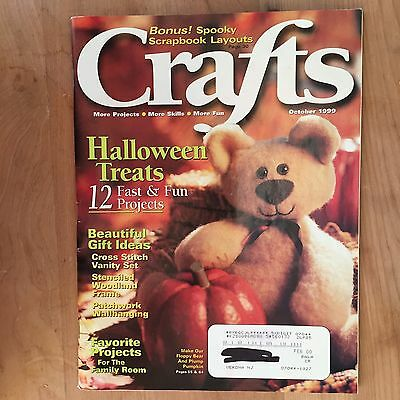 October Halloween Crafts (Crafts Magazine-October 1999-Halloween & Fall Crafts Sewing & Stitchery)