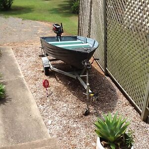10ft tinnie with trailer and motor included Coffs Harbour Coffs Harbour City Preview