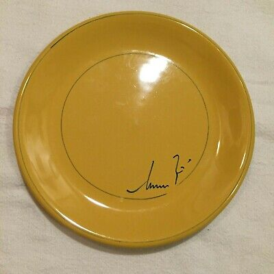 """Cameo Collection by Mamma Ro Salad Plate 8"""" Marigold Yellow"""