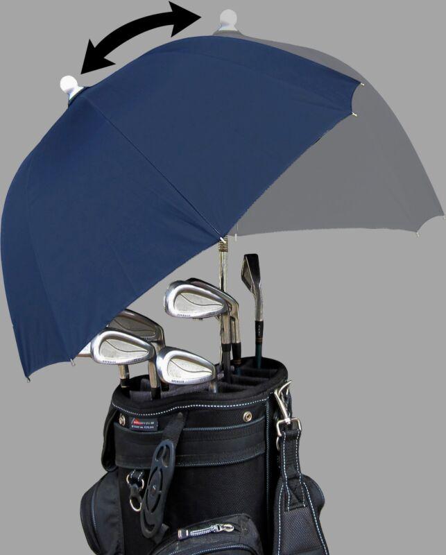 Lot of 24 pieces - Navy Adjustable Flex Golf Bag Umbrella - RainStoppers Caddy