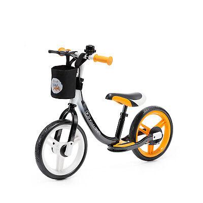 Kinderkraft Bicicleta sin Pedales SPACE Niño Sillín Ajustable con Freno Naranja