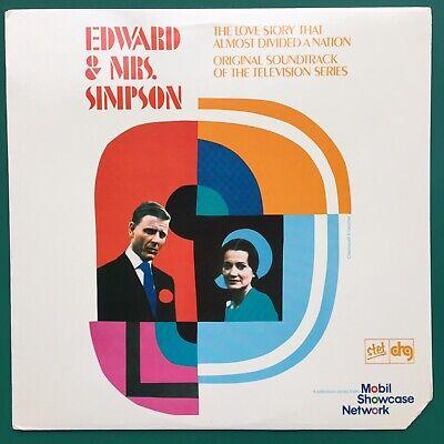 Rare Ron Grainer EDWARD & MRS SIMPSON TV Soundtrack LP Jenny Wren DRG Import USA