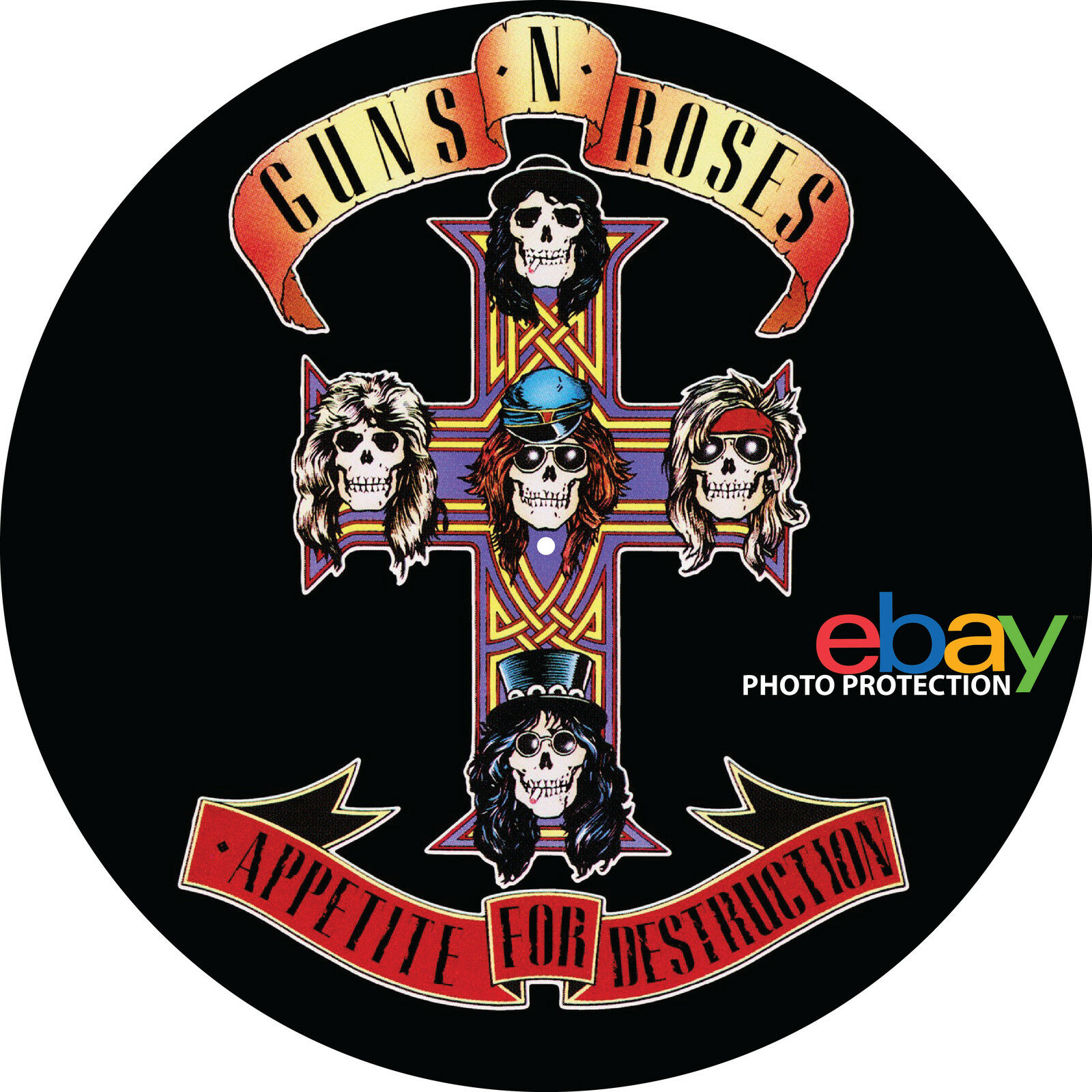 Guns N Roses Appetite For Destruction 7 Amp 12 Inch
