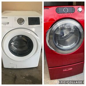 Wow Full working SAMSUNG 3 y Washer electric dryer