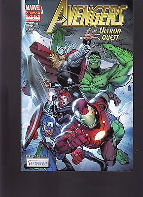Marvel The Avengers Ultron Quest  1 Wyndham Hotel Rewards Exclusive Variant