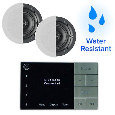 Systemline E100 Bluetooth & DAB+ Bathroom Radio ...