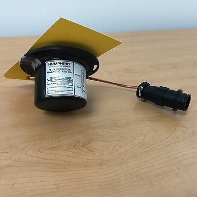 Humphrey Flux Detector, PN:FD01-0301-1, Yellow Tagged