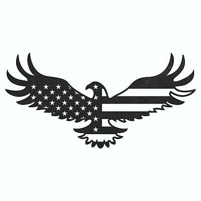 Usa Flag Eagle Dxf Plasma Laser Waterjet Router Plotter Cut Vector Cnc Svg