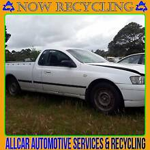 WRECKING FORD FALCON UTE XL 09/03 6 CYLINDER AUTOMATIC WHITE Millicent Wattle Range Area Preview