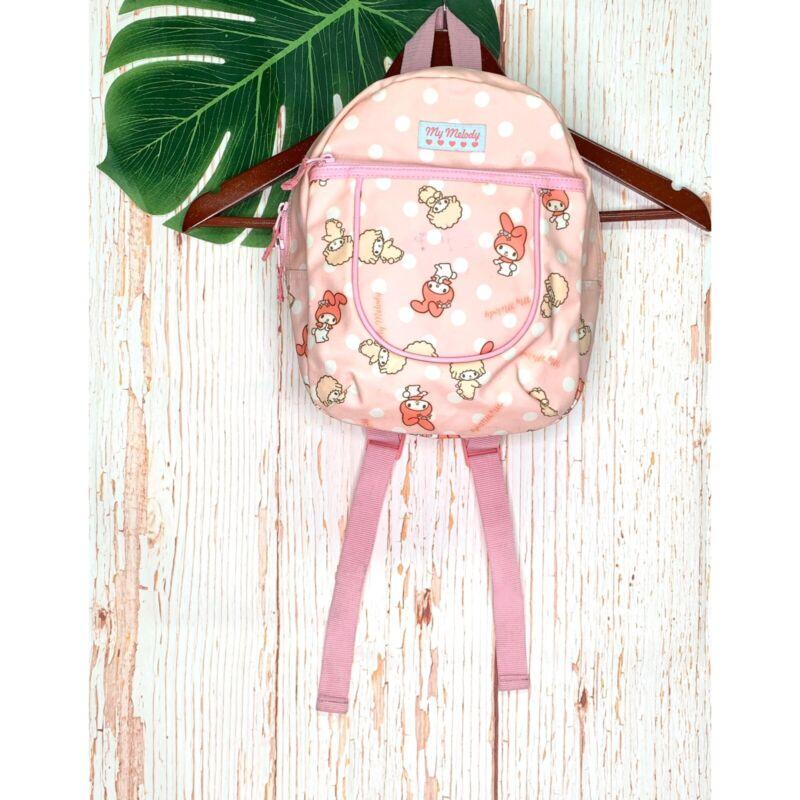 Sanrio My Melody Mini Backpack Bag 2008 Pink Dot Kawaii