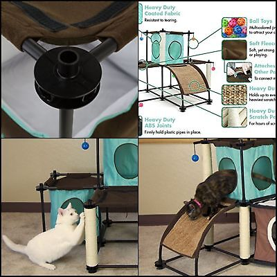 Kitty City Steel Claw Starter Kit Cat Furniture Very Convenient  Free Shipping
