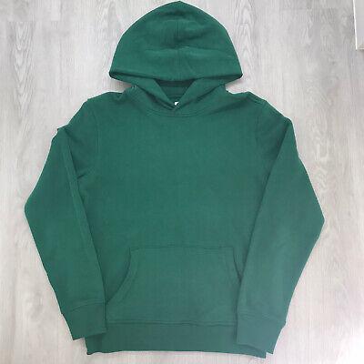 GAP Mens/Unisex Vintage Green Sueded Fleece Hoodie Size XS