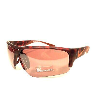NIKE Golf X2 Pro EV0873 606 Max Speed Sunglasses Matte Red Tortoise (MSRP (Nike X2 Pro Sunglasses)