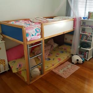Kids Ikea 39 S Wooden Bunk Bed Cots Bedding Gumtree Australia