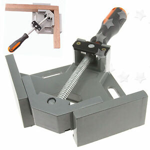 90° Right Angle Corner Clamp Wood Metal Welding Woodworking Vice