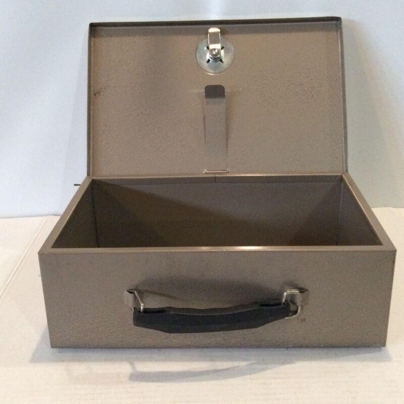 Rockaway Metal Prod Lockbox No key Steel Security Box