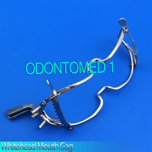 "WhiteHead Dental Mouth Gag 5.5"" Surgical Stainless Steel Instruments"