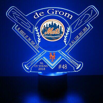 Jacob deGrom New York Mets MLB Baseball Light Up LED Collectible Gift