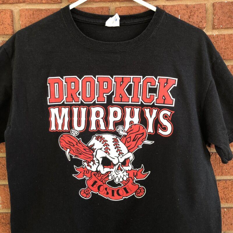 VTG Dropkick Murphys T Shirt Live at Fenway Park 2011 Med Boston Band Red Sox