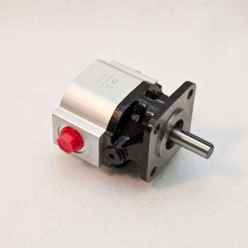 """4 GPM Bi-Directional Gear Pump, 1/2"""" Shaft, 4 Bolt, CW CCW, CBS6-F4SS"""