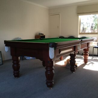 B&K traditional billiards slate 8'x4' table excellent condition Ringwood Maroondah Area Preview