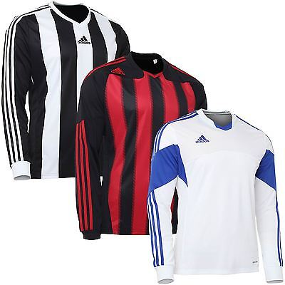 Mens adidas LS Football Jerseys~Stricon~ESTR 013~Tiro 13Soccer~T-Shirt~Climacool