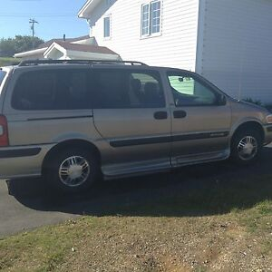 2003 Wheelchair accessible van