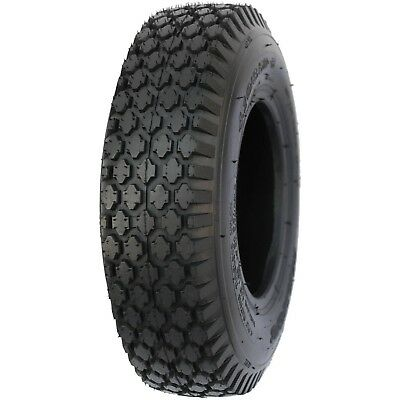 - 2 NEW - 4.80/4.00-8 2PR SU14 HI-RUN STUD LAWN & GARDEN TIRES
