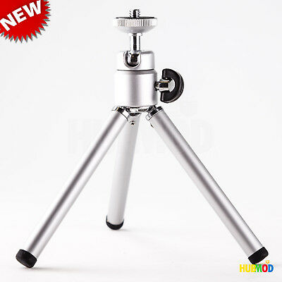 Mini Tripod Stand Holder for small Camera Phone Rotating table desk top webcam