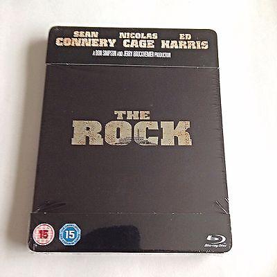 The Rock Blu Ray Steelbook  U K   Play Com Exclusive  Region Free  New   Sealed