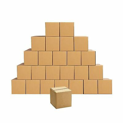 Shipping Boxes Small 5 X 5 X 5 Inches Cardboard Boxes 25 Pack