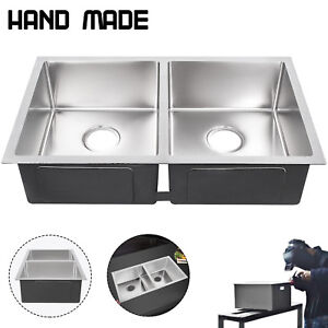 stainless steel drop in kitchen sink ebay rh ebay com black kitchen sink ebay kitchen sink ebay canada