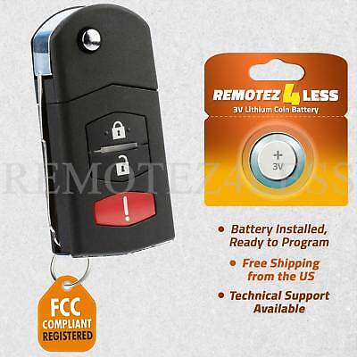Keyless Entry Remote for 2005 2006 2007 Mazda 6 Wagon Car Key Fob Control