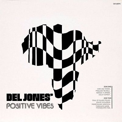 Del Jones Positive Vibes Hikeka Records Sealed Vinyl Record Lp